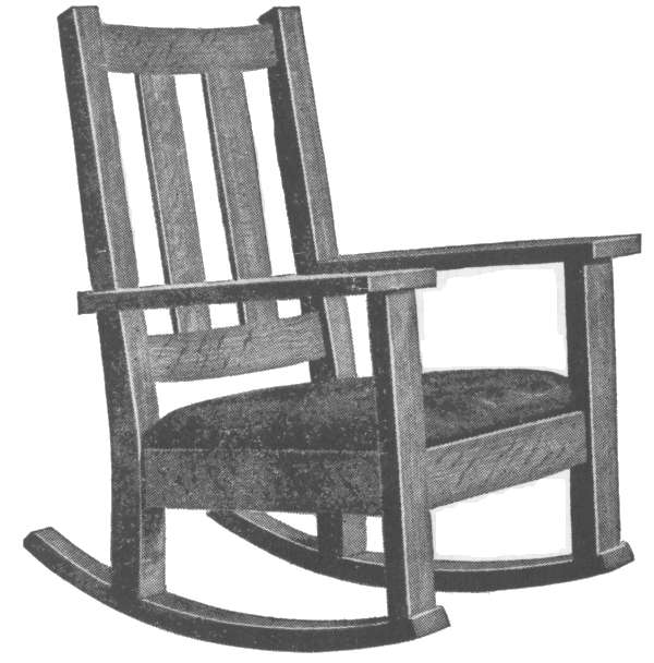 Mission Style Rocking Chair Woodworking Plans